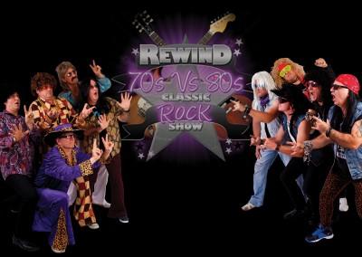 Rewind 70's Vs 80's Classic Rock Show