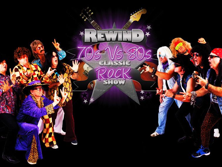 REWIND 70s vs 80s SHOW